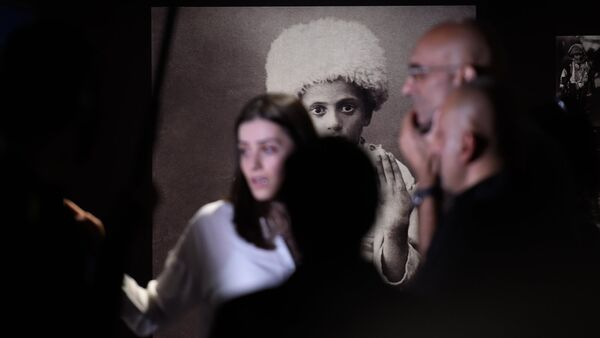 Лауреат премии Аврора доктор Том Катена (Судан) в музее-институте Геноцида армян (4 июня 2018). Еревaн - Sputnik Армения