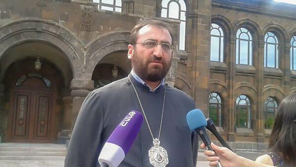 Аршак епископ Хачатрян - Sputnik Արմենիա