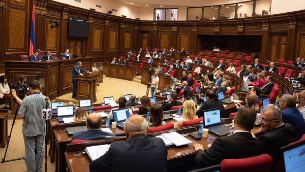 Внеочередное заседание Национального Собрания (7 июня 2018). Еревaн - Sputnik Արմենիա