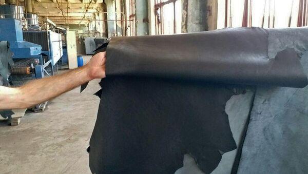 Кожевенный завод Arleder в Еревaне - Sputnik Армения