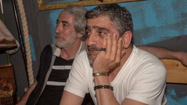 Арамо и Эдуард Зорикян в Sputnik Fan Zone - Sputnik Армения