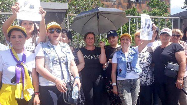 Акция протеста в поддержку задержанного депутата Манвела Григоряна (17 июня 2018). Ереван - Sputnik Արմենիա