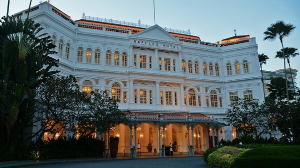 Отель Raffles в Сингапуре - Sputnik Армения