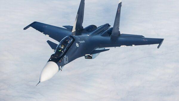 Многоцелевой истребитель Су-30СМ - Sputnik Արմենիա