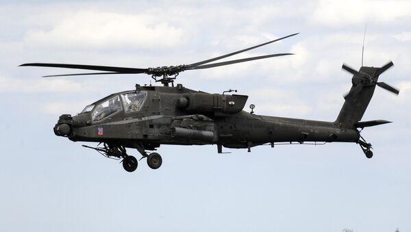 Ударный вертолёт McDonnell Douglas AH-64 Apache - Sputnik Армения