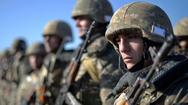 Военнослужащие армянской армии - Sputnik Армения