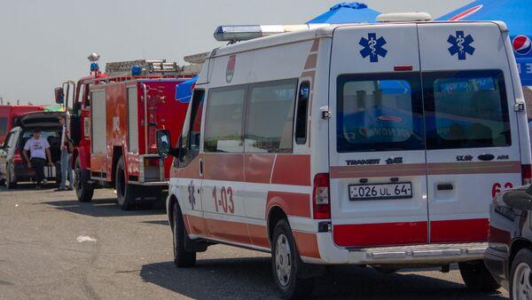 Автомобили пожарной службы и скорой медицинской помощи - Sputnik Արմենիա