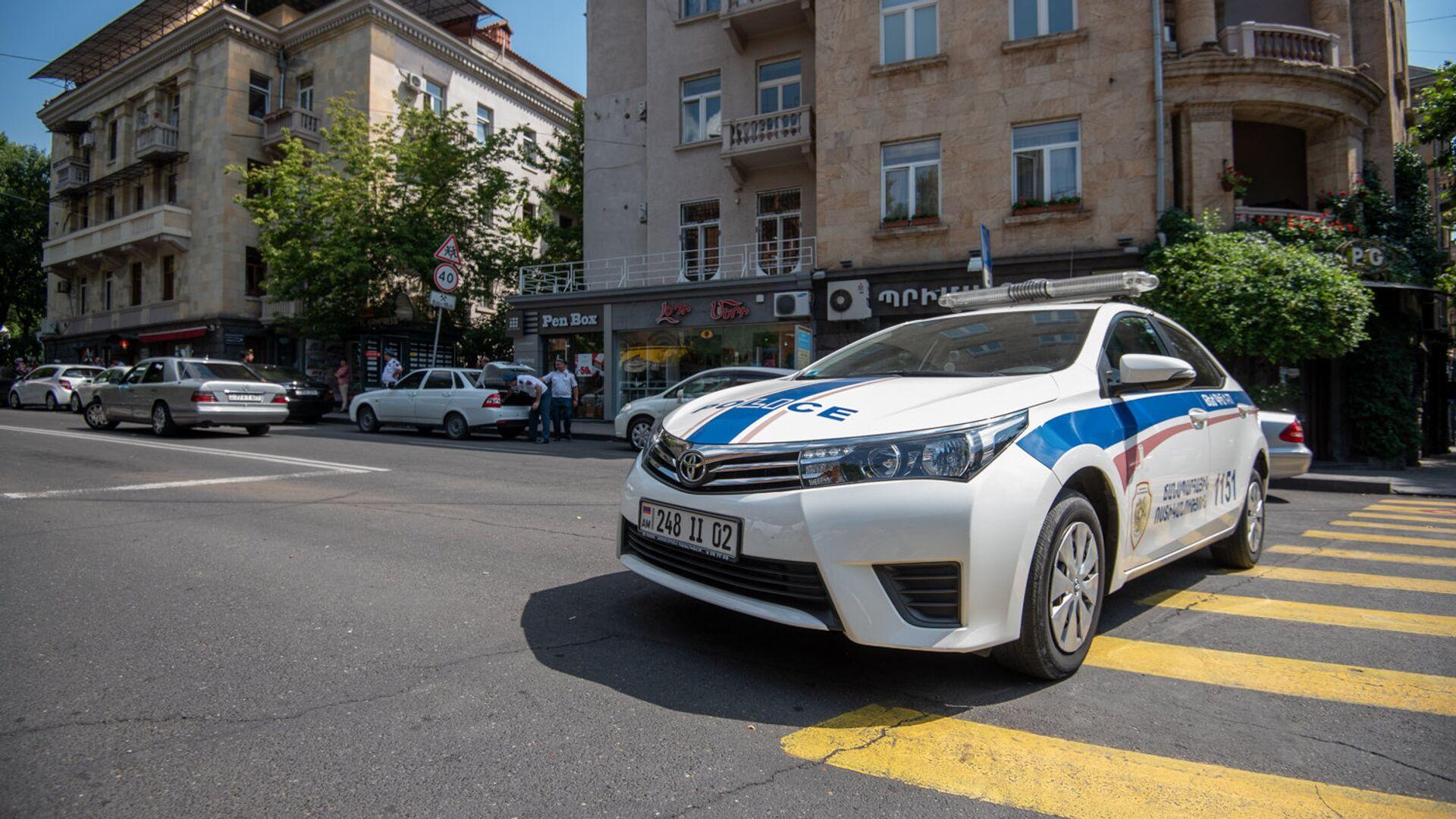 Полиция Армении - Sputnik Армения, 1920, 28.09.2021