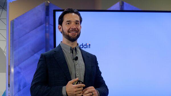 Выступление соучредителя Reddit Алексиса Оганяна на мероприятии Microsoft (13 декабря 2017). Сан-Франциско - Sputnik Արմենիա
