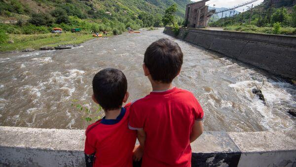 В Армении запущен новый для Армении туристический проект для экстремалов – рафтинг - Sputnik Արմենիա