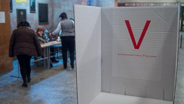 Избирательный участок. Выборы - Sputnik Армения