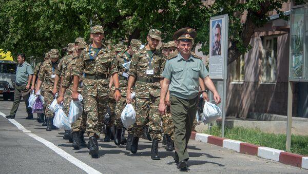 Первый день летнего призыва 2018 - Sputnik Армения