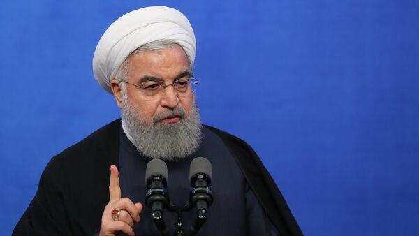 Президент Ирана Хасан Рухани - Sputnik Армения