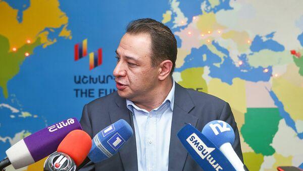 Исполнительный директор Всеармянского фонда Айастан Ара Варданян - Sputnik Արմենիա