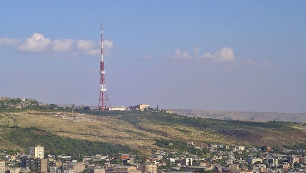 Телевизионная башня, Ереван - Sputnik Արմենիա