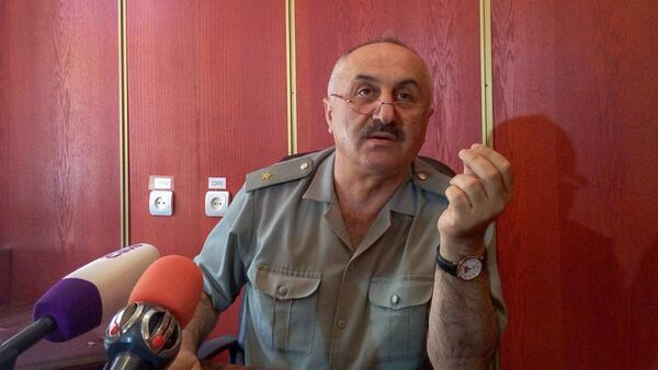 Генерал-майор Камо Кочунц - Sputnik Արմենիա