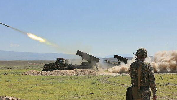 Военные учения армянской армии - Sputnik Армения