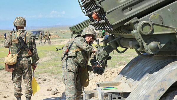 Военные учения армянской армии - Sputnik Արմենիա