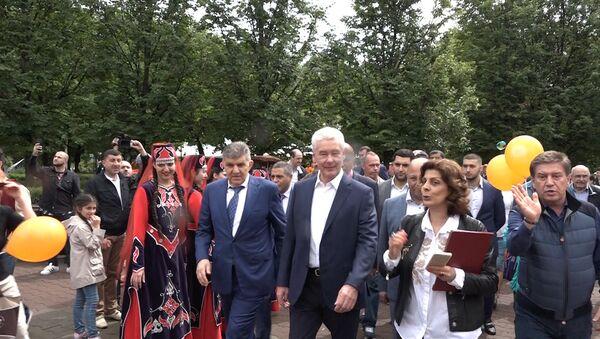 Московский многонациональный праздник АБРИКОС – 2018 отметили в Екатерининском парке - Sputnik Армения