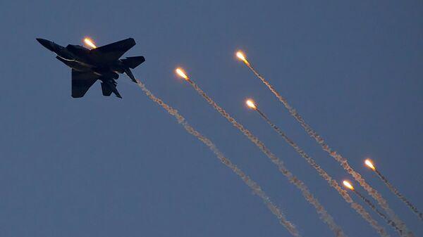 Истребитель четвертого поколения ВВС Израиля F-15 - Sputnik Армения