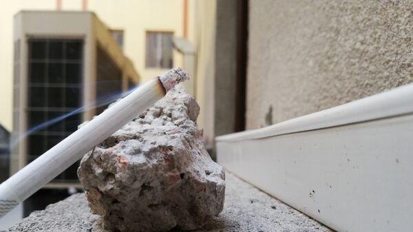 Зажженная сигарета - Sputnik Արմենիա