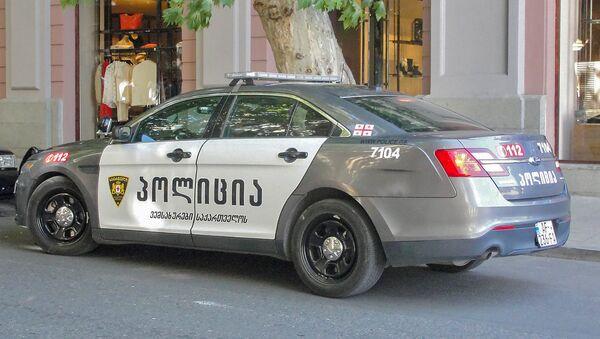 Полицейский автомобиль в Тбилиси - Sputnik Армения