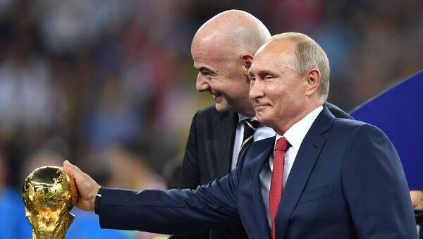Награждение победителей ЧМ-2018 по футболу - Sputnik Армения