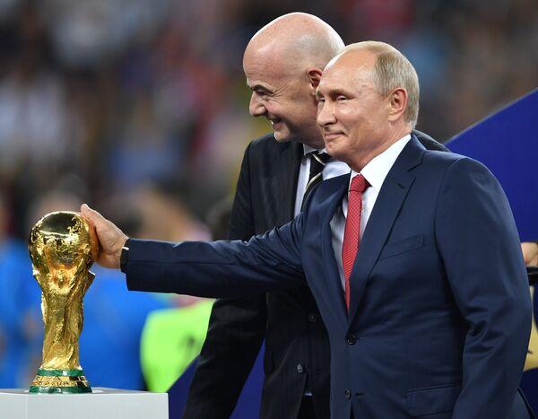 Ֆուտբոլի աշխարհի առաջնության եզրափակիչ Ֆրանսիա - Խորվաթիա - Sputnik Արմենիա