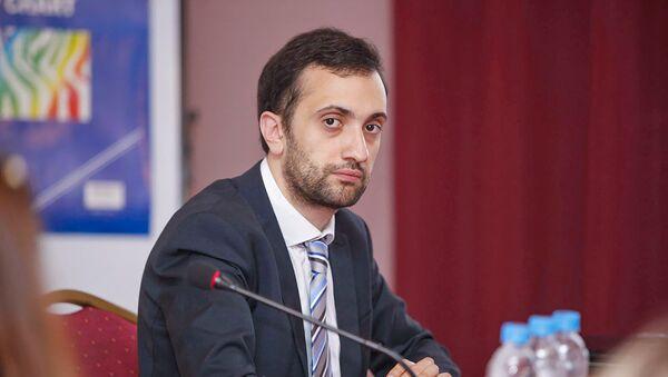 Даниел Иоаннисян на семинаре Соглашение Армения - ЕС: от подписания до имплементации (16-18 марта 2018). Цахкадзор - Sputnik Армения