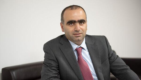 Начальник управления информационных технологий комитета государственных доходов Армении Ашот Мурадян - Sputnik Արմենիա