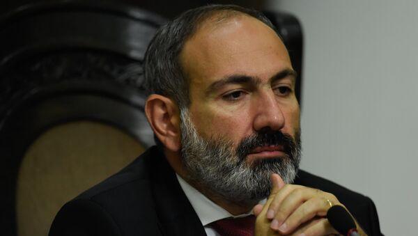 Пресс-конференция премьер-министра Армении Никола Пашиняна (20 июля 2018). Еревaн - Sputnik Армения