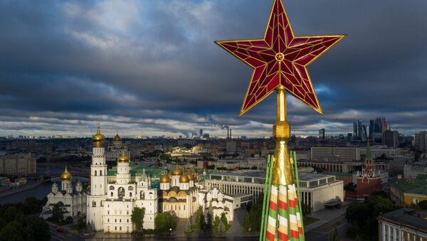 Вид на Москву с высоты птичьего полёта - Sputnik Армения
