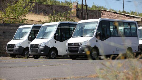 Новые микроавтобусы ГАЗ - Sputnik Армения
