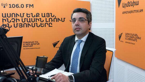 Микаел Пашаян - Sputnik Արմենիա