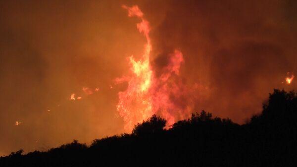 Пожар в Греции - Sputnik Армения
