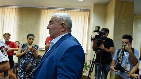 Юрий Хачатуров в здании специальной следственной службы Армении (26 июля 2018). Еревaн - Sputnik Արմենիա