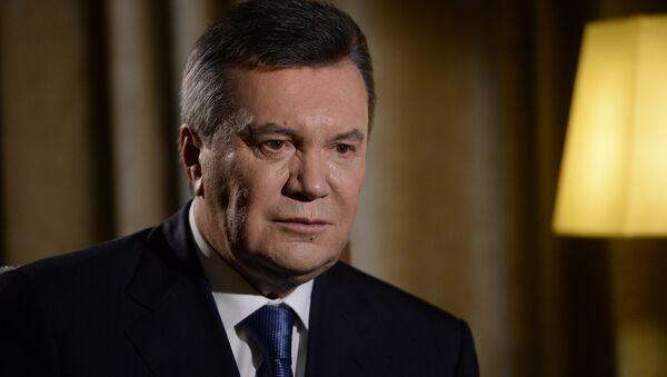 Бывший президент Украины Виктор Янукович дал интервью РИА Новости - Sputnik Армения