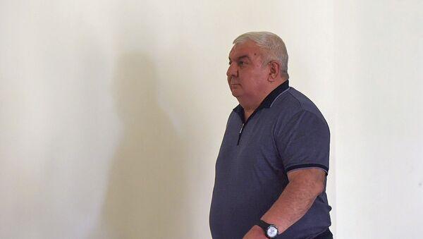 Юрий Хачатуров в здании суда Первой инстанции административного района Шенгавит (27 июля 2018). Еревaн - Sputnik Արմենիա