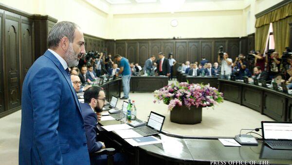 Заседание правительства Армении (2 августа 2018). Еревaн - Sputnik Армения