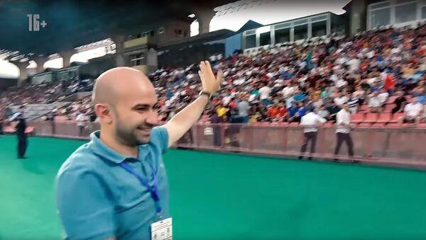 Кадр из влога Тимур Журавель Футбол в Ереване - Sputnik Արմենիա