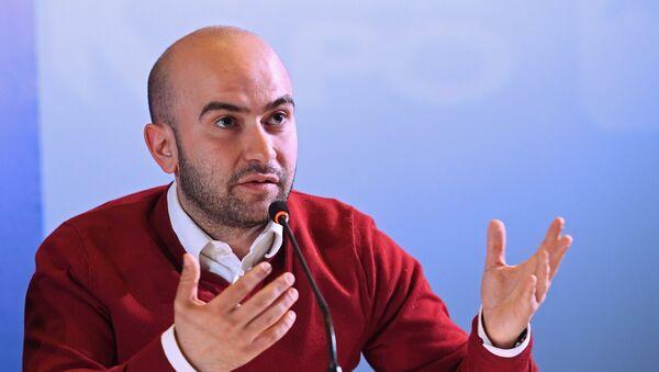 Спортивный комментатор Нобель Арустамян  - Sputnik Армения