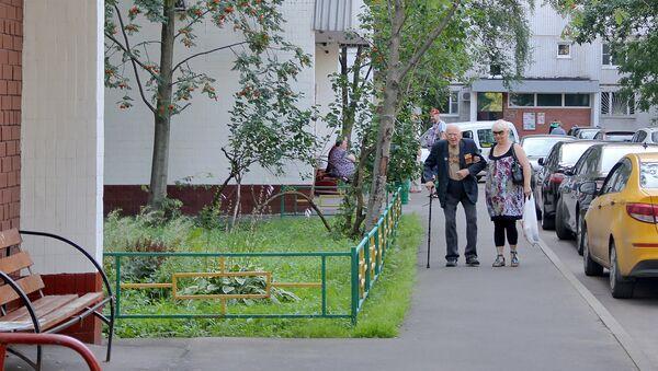 Двор на Алтуфьевском шоссе, где жила семья Хачатурян - Sputnik Արմենիա