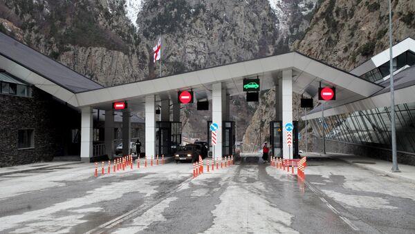 Автомобильный пункт пропуска Верхний Ларс - Sputnik Армения