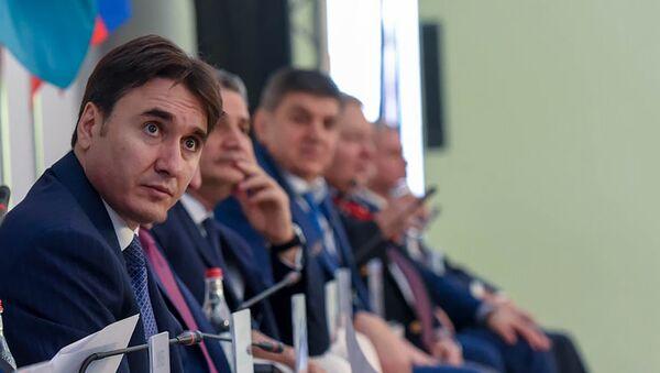 Международный форум евразийского партнёрства. Армен Геворкян - Sputnik Армения