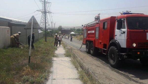 В Армении пожарные расчеты ЮВО и МЧС Армении провели тактико-специальные учения - Sputnik Արմենիա