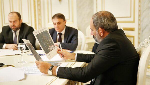 Совещание у премьер-министра Армении Никола Пашиняна по ворпосам лесного хозяйства (8 августа 2018). Еревaн - Sputnik Արմենիա