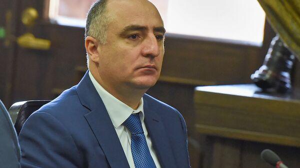 Глава специальной следственной службы Сасун Хачатрян на заседании правительства Армении (19 июля 2018). Еревaн - Sputnik Армения