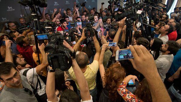Ситуация в пресс-центре - Sputnik Армения