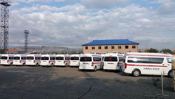 Правительство Китая подарило Армении новые автомобили скорой помощи - Sputnik Армения