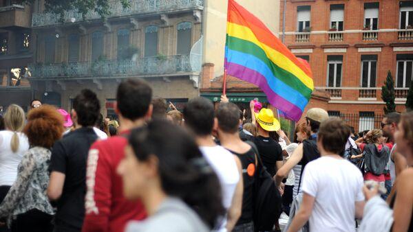 Гей парад в Тулузе, Франция - Sputnik Армения